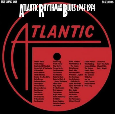 drifters white christmas im currently listening to atlantic rhythm and blues 1947 1974 its an 8 cd 203 song 10 hour behemoth of a set